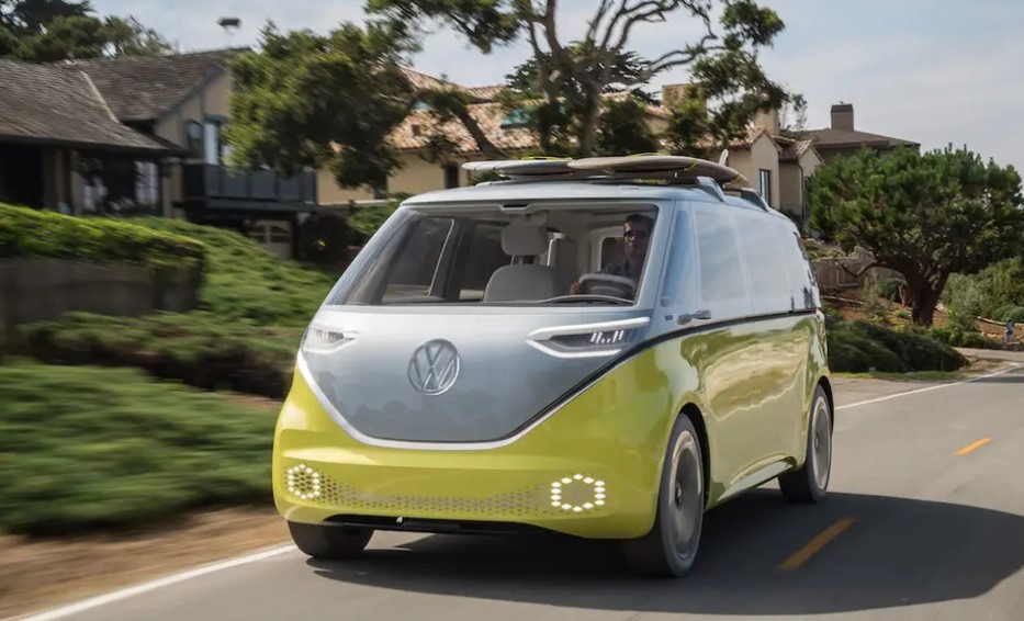 2022 VW Bus Electric Colors Release Date Interior Price