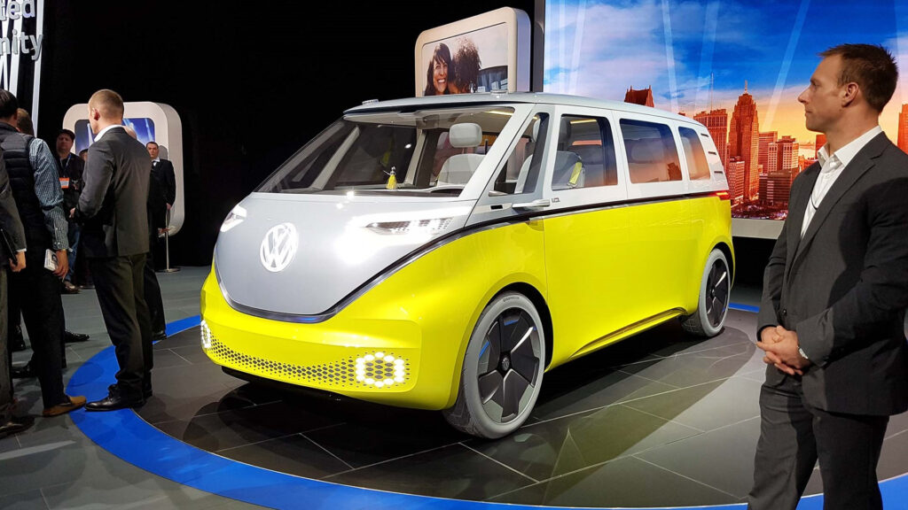 Volkswagen Confirms Electric I D Buzz Production