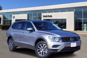 New 2021 Volkswagen Tiguan 2 0T S FWD In Pyrite Silver